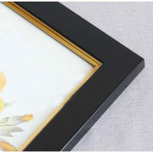 Marco Plastica  Negra Filete  40x50