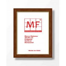Marco Ecologico Cafe Filete Dorado 30x40
