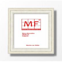 Marco Plástico Crema 40x40 cm