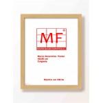 Marco 40x50 2 cm Plana  madera   Mañio