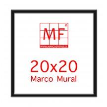 Pack 6 Marcos Ecologicos Negro para fotos 20x20 o para fotos 10x10