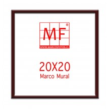Pack 6 Marcos Ecologicos Burdeo para fotos 20x20 o para fotos 10x10