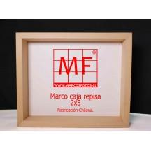Marco caja repisa 2X5 30x40