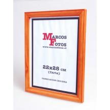 Marcos Diploma medida 22x28 cm Alerce